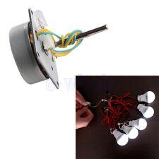 Mini Micro Small 3-phase Wind Turbine Hand Generator DIY Motor 3-24V  GE