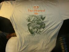Bell'S Brewery Two Hearted Ale Logo T Shirt Xxl 65% Polyester 35% Cotton Beer Mi