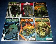 R.L. STINE MAN-THING #1 variant set (6) 1:25 FRANCAVILLA MARTIN VENOMIZED MARVEL