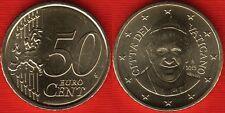 "Vatican 50 euro cents 2015 ""Pope Francis"" UNC"