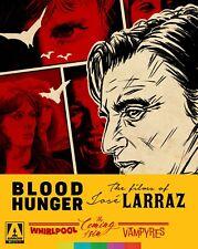 Blood Hunger: The Films of Jose Larraz New Arrow Blu-Ray Box Set