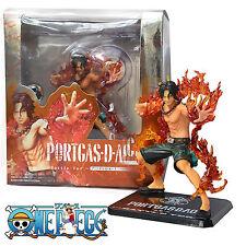 "One Piece Anime Portgas·D· Ace Battle Ver. 5.9"" PVC Figure Model Statue Toy Gift"