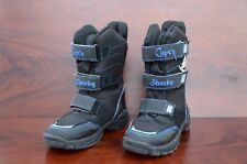 Capt'n Sharky Polar-Tex Stiefel Boots Winterstiefel Gr.30, schwarz-blau