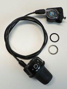 Drehgriffschalter mit Klickbox 1700 mm  für SRAM P5  Sunrace Sturmey Archer