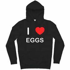 I Love Eggs - Hoodie