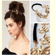 1* Pour femmes rétro Vintage feuilles creuses élastique cheveux bande serre-tête