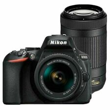 Nikon D5600 DSLR Camera & Twin Lens Kit - Black