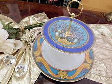 edle große Etagere Tafelaufsatz 2stufig Rosenthal Versace Les Tresors de la Mer