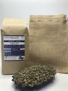 1lb/30lb - Sumatra – Specialty Grade - Premium Unroasted Green Coffee Beans