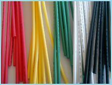 gaine thermorétractable  diam  3,2mm coloris et longueur au choix manchon de10cm