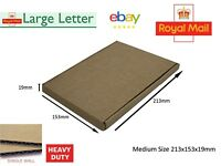Royal Mail C4 C5 C6 Large Letter Cardboard Postal Mailing Strong HEAVY DUTY BOX