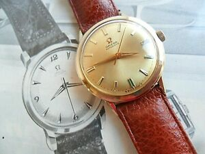 FULLY SIGNED Vintage 1968 Men's Omega Automatic 17J Jewel Cal. 550 Swiss Watch