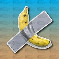 """Banana Duct Tape Funny Art LOL MEME 5"""" Custom Vinyl Decal Sticker JDM"""