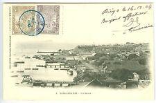 MADAGASCAR: Postcard to France 1904, arr canc.(2)