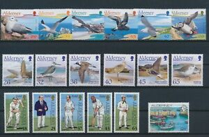 LN27227 Alderney mixed thematics nice lot of good stamps MNH