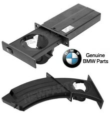 For BMW E60 E61 5-Series Pair Set of Left & Right Cup Holders Dashboard Gray OES