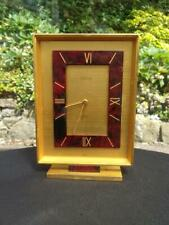 VINTAGE SWISS  LOOPING ALARM 15 JEWEL LEVER 8 DAY CLOCK GLASS FACE OFF