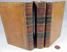 The Works of Henry Mackenzie, Esq. 3 vols Edinburgh 1807 leather