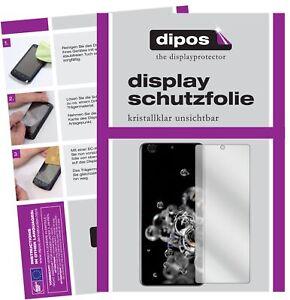 2x Schutzfolie für Samsung Galaxy S20 Ultra klar Displayschutzfolie Display