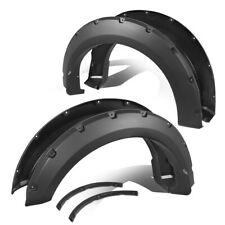 Fit 15-18 Ford F150 Styleside Pocket-Riveted Style Wheel Cover Fender Flares