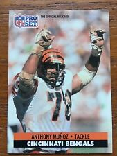 1991 Pro Set Football Card #116 Anthony Munoz Cincinnati Bengals HOF NM/MT