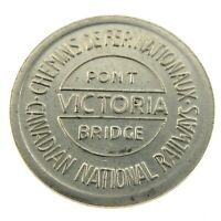 Canadian National Railway CNR Fare Token Pont Victoria Bridge N237