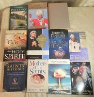 Lot of 11 Catholic & Religious Books