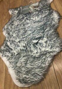 Fluffy Faux Fur Sheepskin Husky Rug Carpet Area Wool Shaggy Rugs Hairy Mat