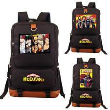 Anime School Shoulder Bags My Hero Academia Backpack Laptop Bag Student Bookbag