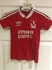 Original 1987/88 Liverpool Home Crown Paints Football Shirt