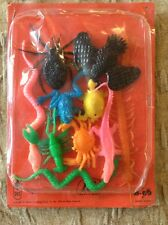 1978 Vending Machine TEASER Rubber Jigglers Frog Lobster Snake Frog CROW Crab