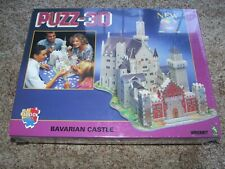 PUZZ-3D NIB SEALED BAVARIAN CASTLE 1000 pc PUZZLE - NR