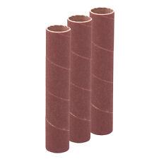 T1165 114mm Bobbin Sleeves 3 pack 19mm 120 Grit Sanding Drum Sanding