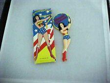 1978 Vintage Wonder Woman Hand Mirror Dc Comics Avon Original Box comic