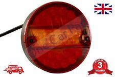 24V LED TAIL LIGHTS HAMBURGER REAR LAMP STOP INDICATOR 4 FUNCTION