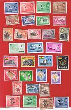 Ghana #1-207a  #C1-C6  #J1-J10 MVFLH OG  1957-63 complete w/some 64-65
