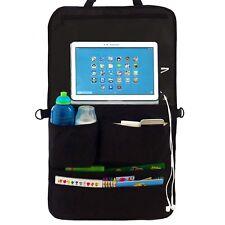 Car Back Seat Organiser & Back seat Storage & Tablet, iPad, Galaxy & DVD Holder
