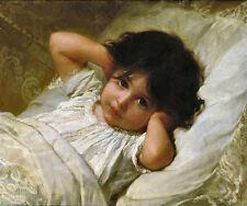 Old Masters reimpresión Artista: Emile Munier Retrato De Marie Louise 1879 (v1f5)