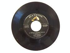 "Pablo Beltran Tender Trap/La Virgen de la Macarena 7"" vinyl 45 rpm"