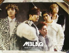 "MBLAQ BLAQ STYLE 3D Edition Taiwan Promo Poster (29""X20"")"