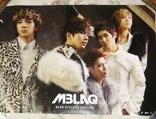 "MBLAQ BLAQ STYLE 3D Edition Taiwan Promo Poster (29""X20"")"