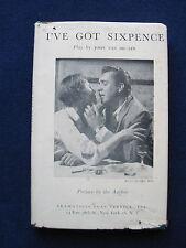 I've Got Sixpence SIGNED by Author / Playwright JOHN VAN DRUTEN