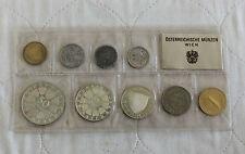 Austria 1970 9 MONETE PROOF SET con Innsbruck UNIV 50 Shilling-CONFEZIONE SIGILLATA