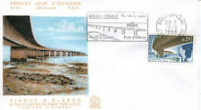 FRANCE FDC - 578 1489 3 PONT D'OLERON - BOURCEFRANC flamme 18 Juin 1966 - LUXE