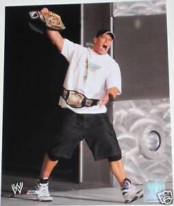 WWE JOHN CENA OFFICIAL LICENSED 8X10 WRESTLING PHOTOFILE PHOTO 6
