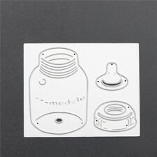 Crafts Embossing Metal Stencil Scrapbooking  Baby Feeding-bottle Cutting Die P&T
