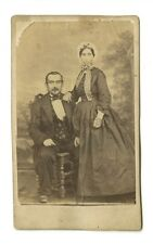 19th Century Fashion - 19th Century Carte-de-visite Photo - Sarralbe, France