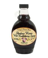 Shadow River Wild Huckleberry Gourmet Syrup 10 oz Jar Fruit Berry Topping