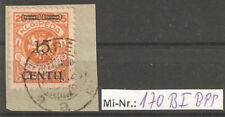 Memelgebiet Mi-Nr.: 170 Type B I auf Briefstück tiefst geprüft Dr.Petersen.BPP