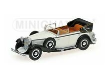 Minichamps 436039407 - 1/43 MAYBACH ZEPPELIN 1932 - WHITE/BLACK